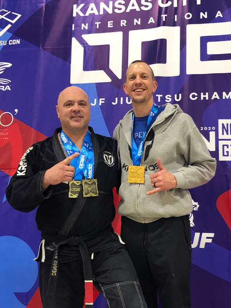 Ryan and I at IBJJF KC