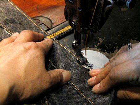 ジーンズってどうやって縫われているの?