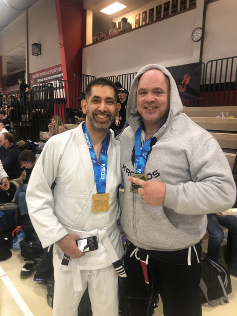 Brian and I at IBJJF KC