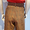 Thumbnail: Plaid 70's Style Vintage Fabric High Waisted Bell Bottom Pants