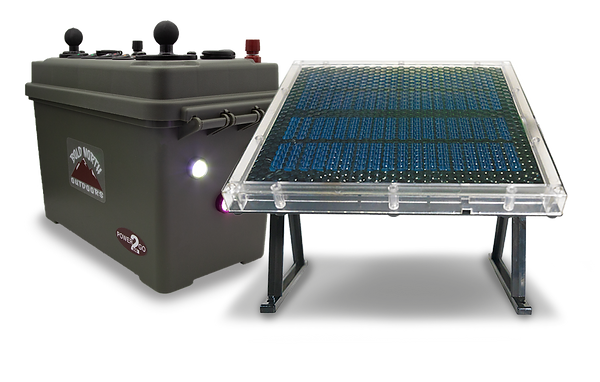 Bold North Outdoors Solar Charging Options