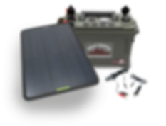 Bold North Outdoors Solar Power Statons