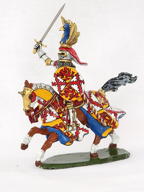 Mounted French knight