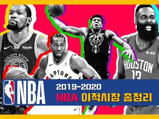 NBA 2019-2020 이적시장 총정리