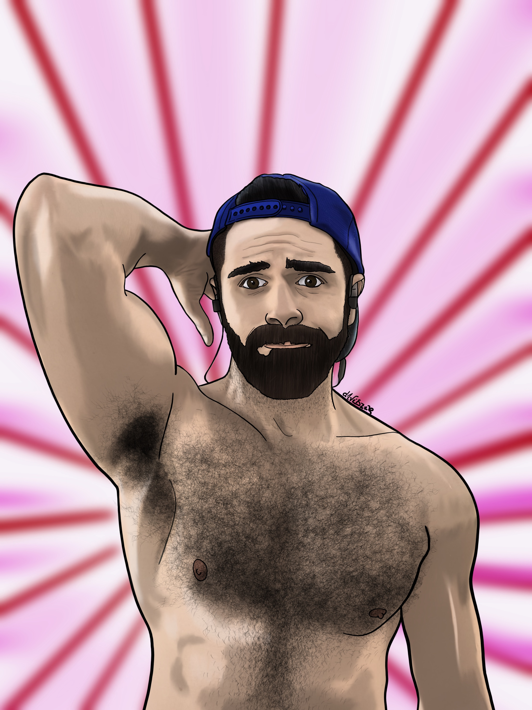 Pink_Hairy_David_Pallás_Gozalo