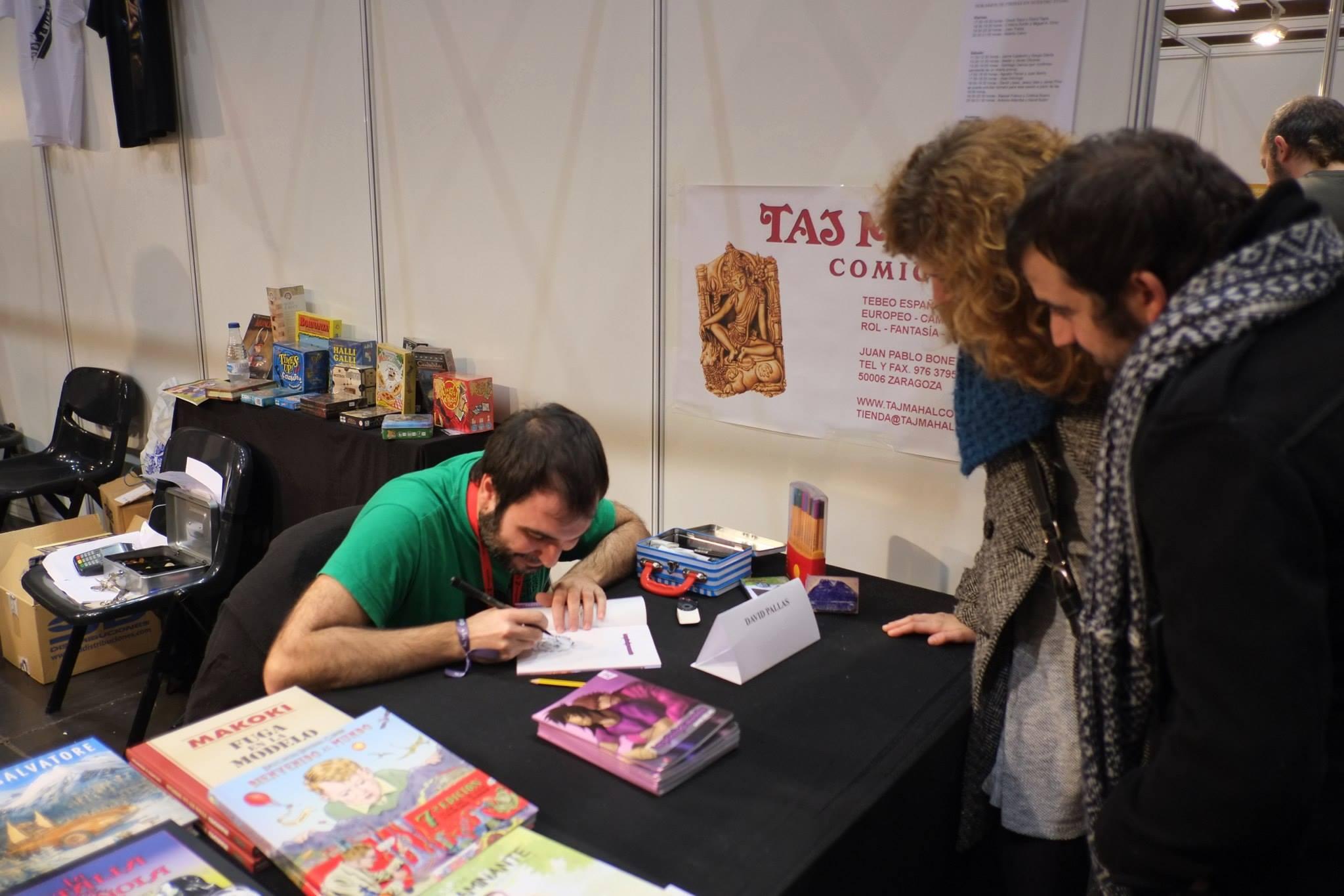 Salón_del_Comic_2015_David_Pallás_Gozalo__Firma_Los_Príncipes_Morados_1