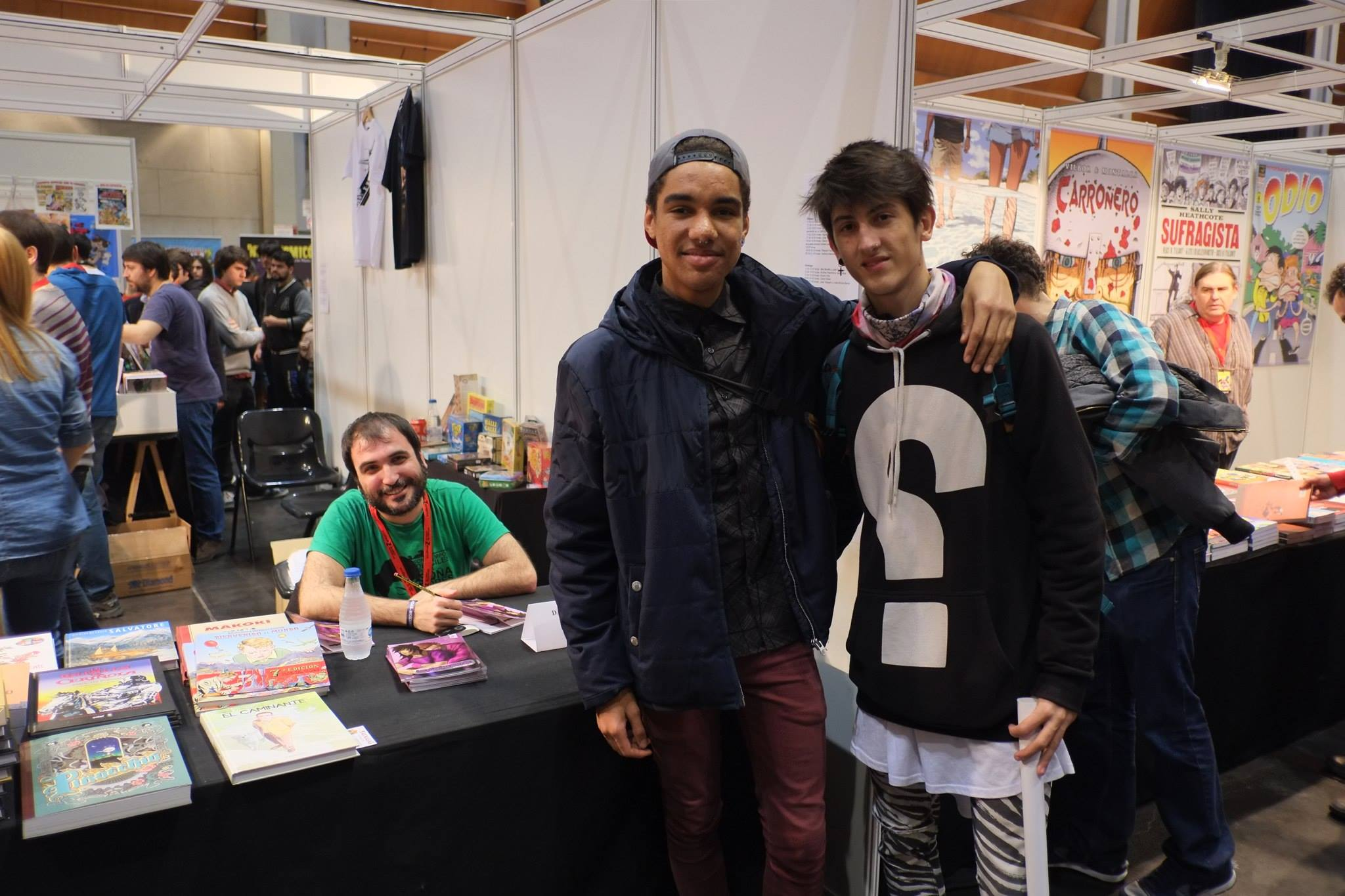 Salón_del_Comic_2015_David_Pallás_Gozalo__Firma_Los_Príncipes_Morados_9