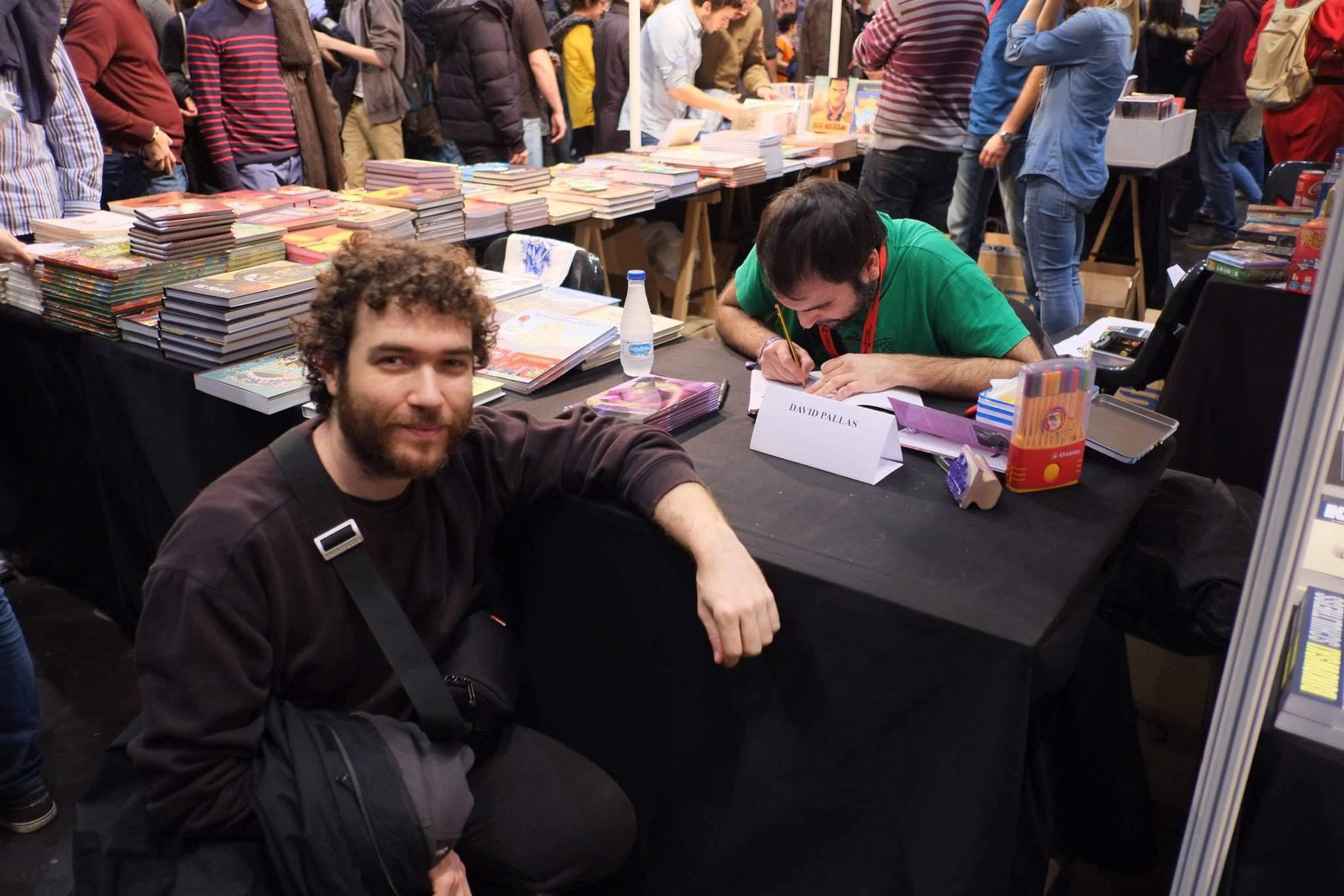 Salón_del_Comic_2015_David_Pallás_Gozalo__Firma_Los_Príncipes_Morados_8