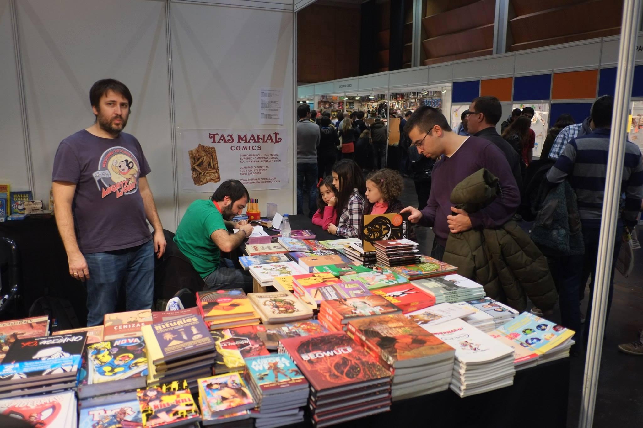 Salón_del_Comic_2015_David_Pallás_Gozalo__Firma_Los_Príncipes_Morados_16