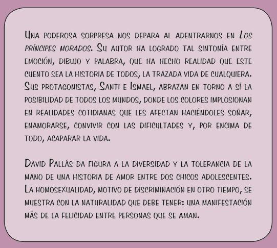 Los Príncipes Morados_Texto Contraportada_David Pallás Gozalo
