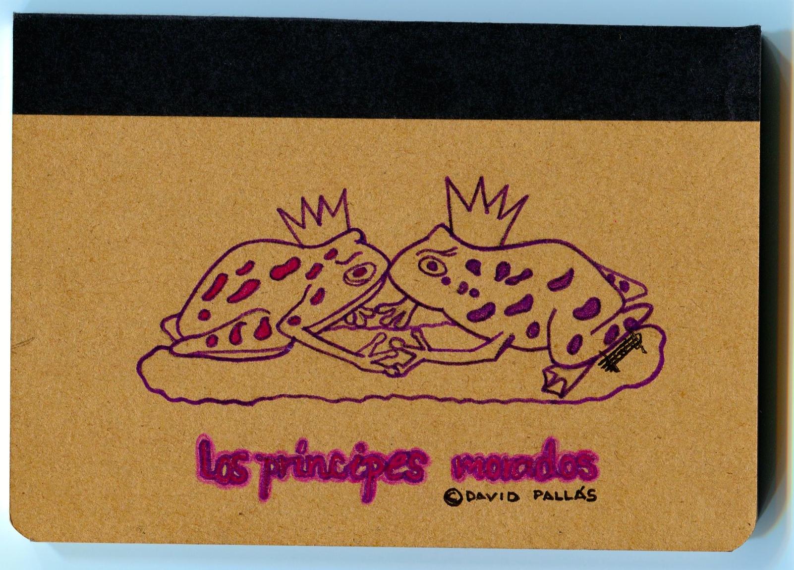 Los Príncipes Morados_Libreta Concurso Posterior_David Pallás Gozalo