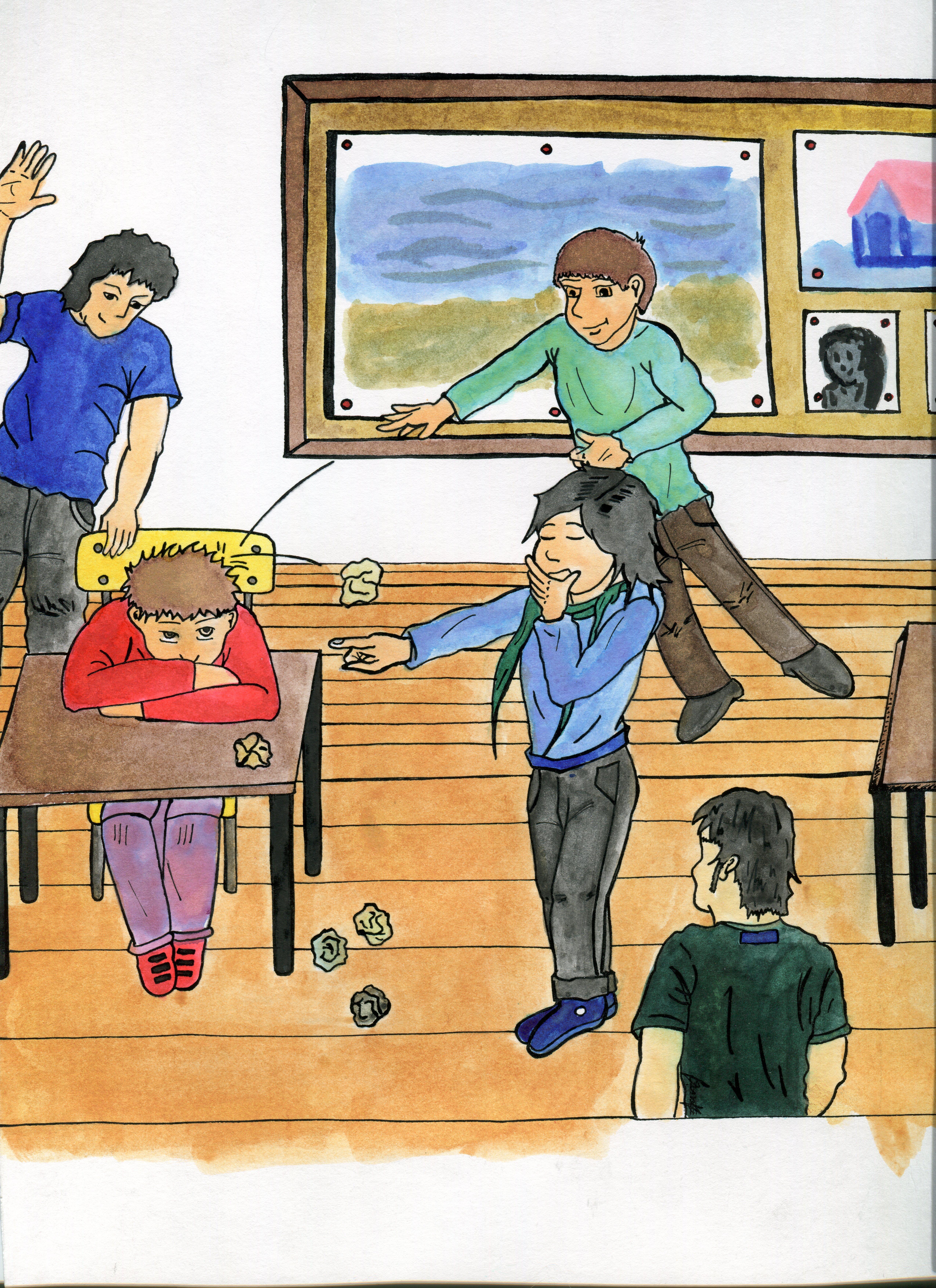 Los Príncipes Morados_Bullying_Isma