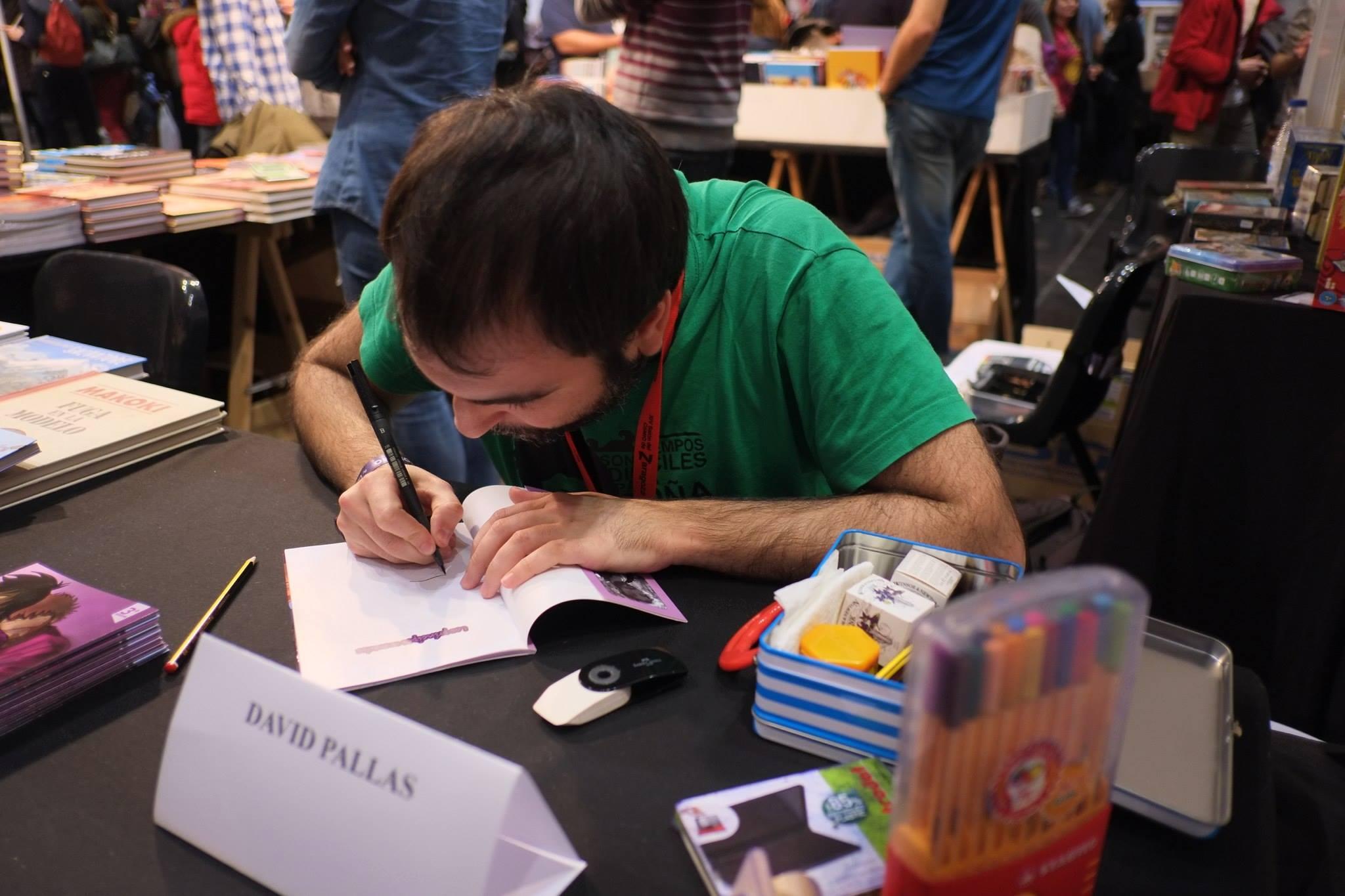 Salón_del_Comic_2015_David_Pallás_Gozalo__Firma_Los_Príncipes_Morados_10