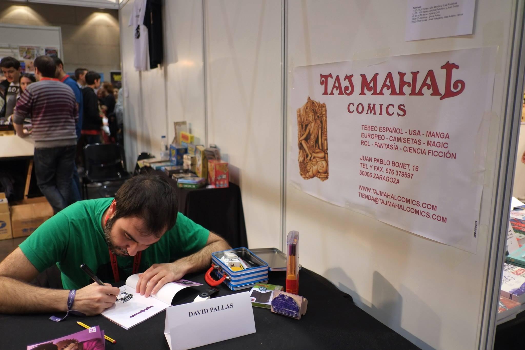 Salón_del_Comic_2015_David_Pallás_Gozalo__Firma_Los_Príncipes_Morados_4