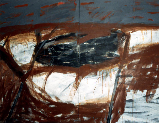 Untitled, 1997, Oil on canvas, 195 x 260