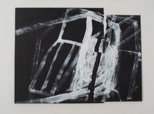 2012 - 40 x 55 cm, Acrylique on paper -