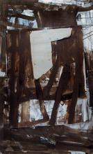 Untitled, 1998, Huile et tolle sur toile