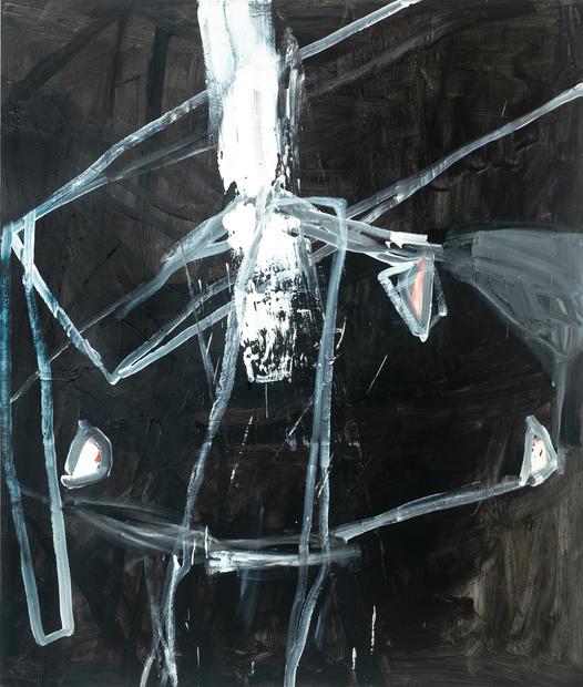 Hommage to Samuel Beckett, Oil on canvas, 200 x 170 cm, 2019