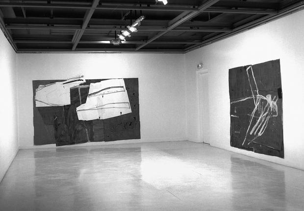 1998 - Acrylique on paper - 220 x 300 cm