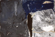 Unititled, 1992, Acrylic on carboard, 13
