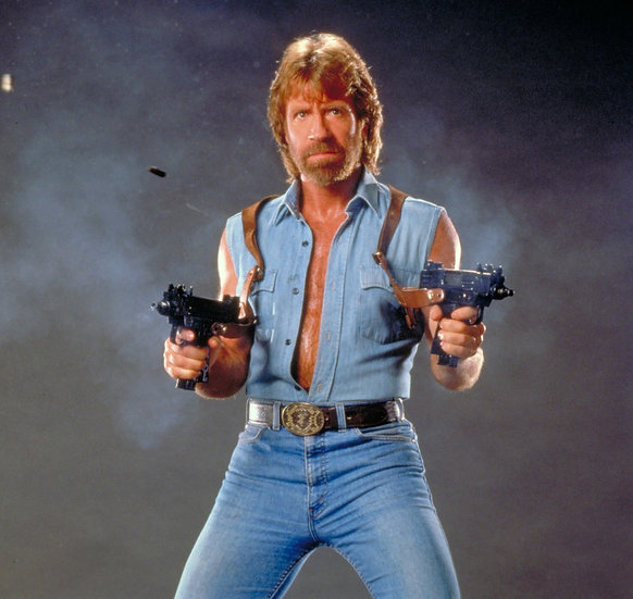 Chuck Norris Personalization or Character Name Mail Order