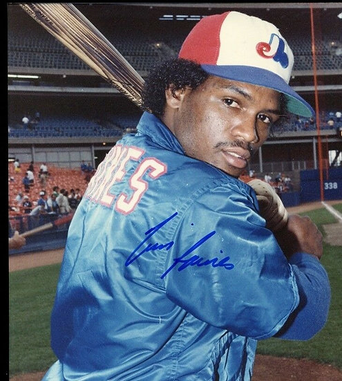 Tim Raines Inscription Mail Order