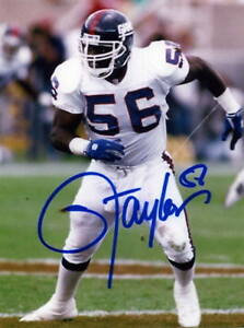 Lawrence Taylor Inscription Mail Order