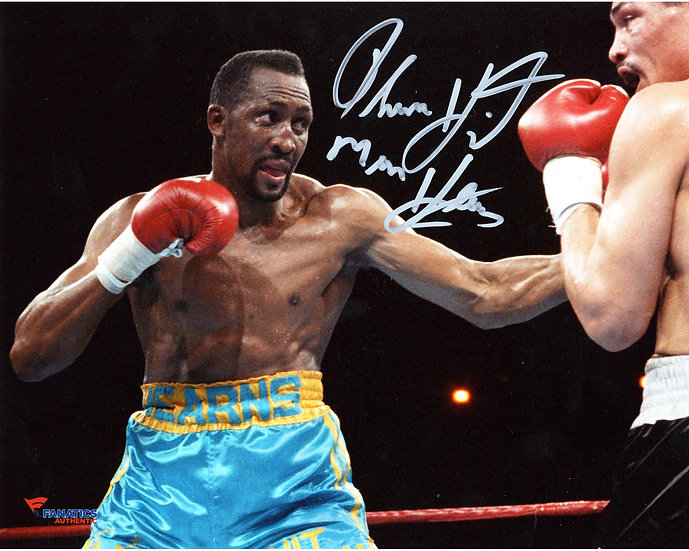 Tommy Hearns Add'l Inscription Mail Order