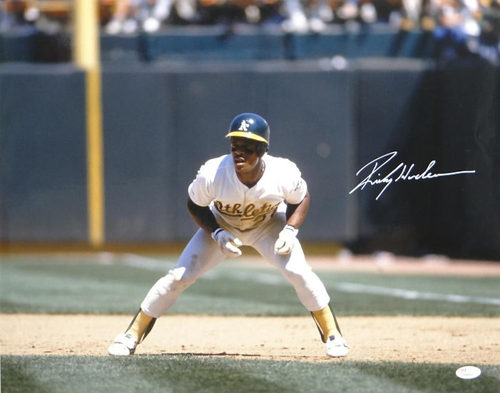 Rickey Henderson Inscription Mail Order