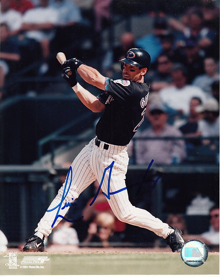 Luis Gonzalez Any Item Mail Order