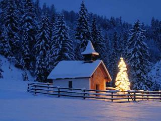 Sitting og julestress