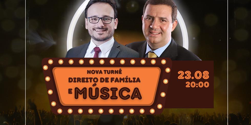 LIVE DIREITO DE FAMÍLIA E MÚSICA