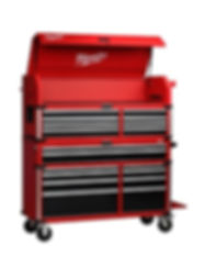 red-and-black-milwaukee-tool-chest-combo
