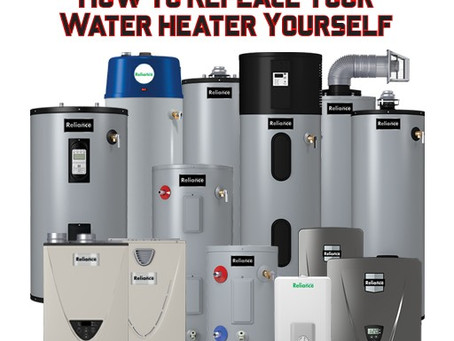 How To Replace or Repair A Water Heater Yourself