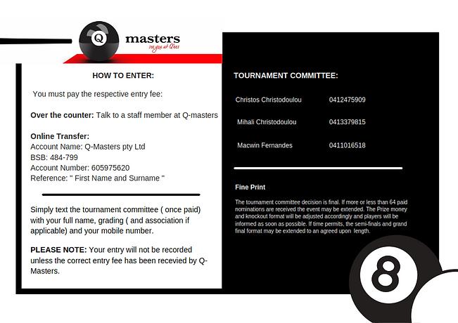 Q-master's annual 8ball tournament 2 __0