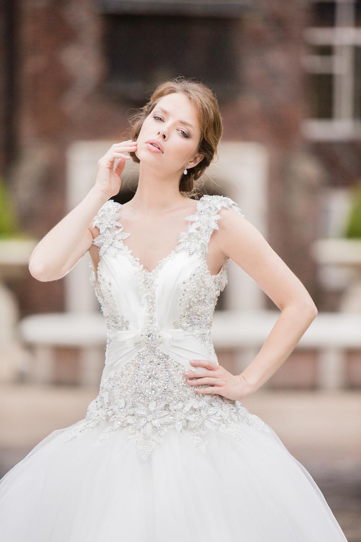 Polka Bridal Wider Strap