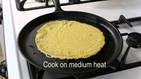 Now Cook Your Tortillas!