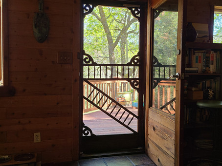 I love the front door on our new home in gold country.  So aesthetic!