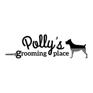 Polly's grooming place logo II