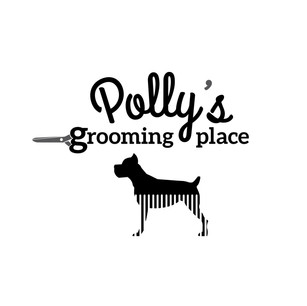 Polly's grooming place logo I