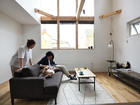 家具をプラスして完成する家