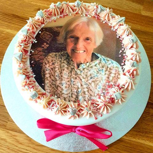 Photo Celebration Cake