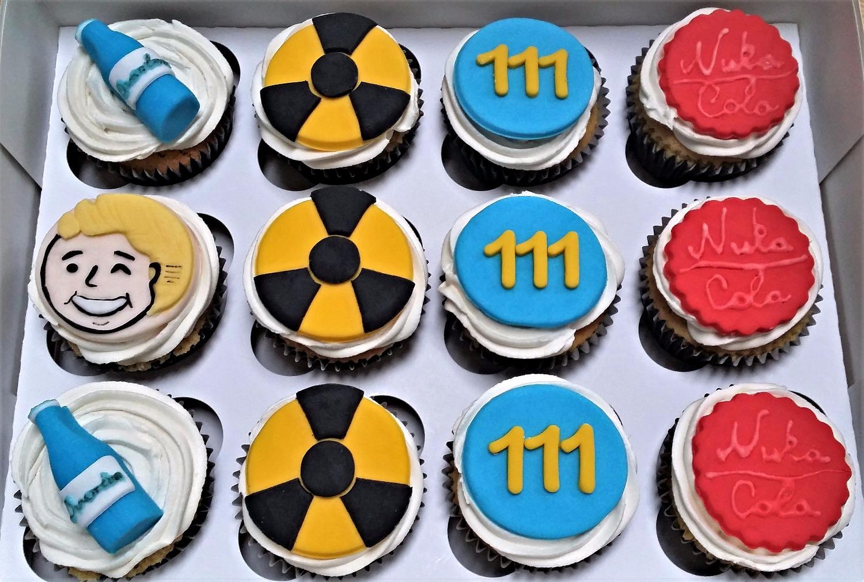 Fallout 4 cupcake