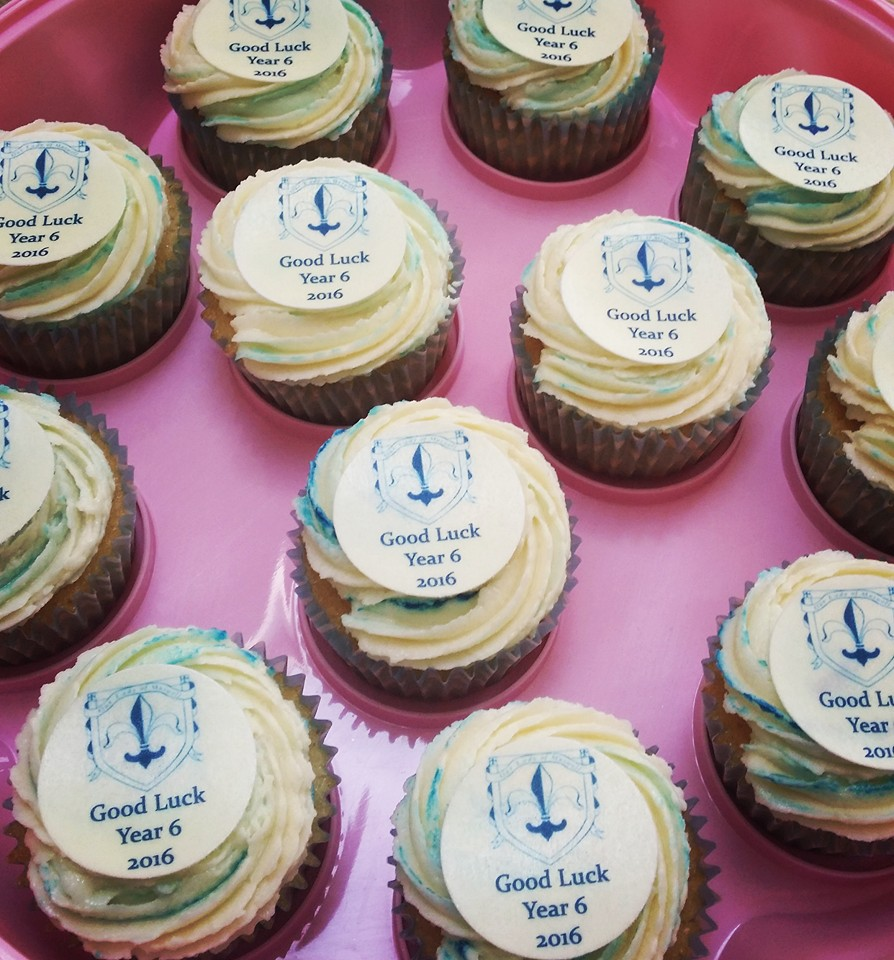 School leavers cupcakes
