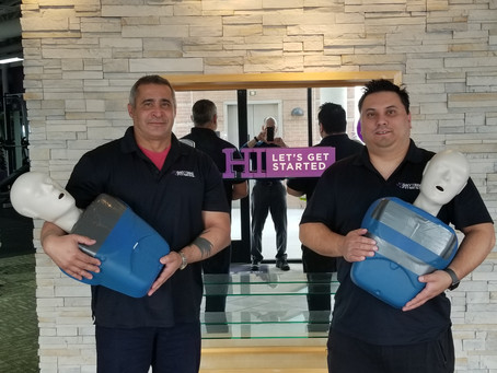 Congratulations Anytime Fitness Irving