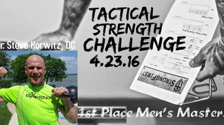 2016 Tactical Strength Challenge Men's Masters Champion