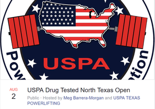 USPA Drug Tested National Record!!!