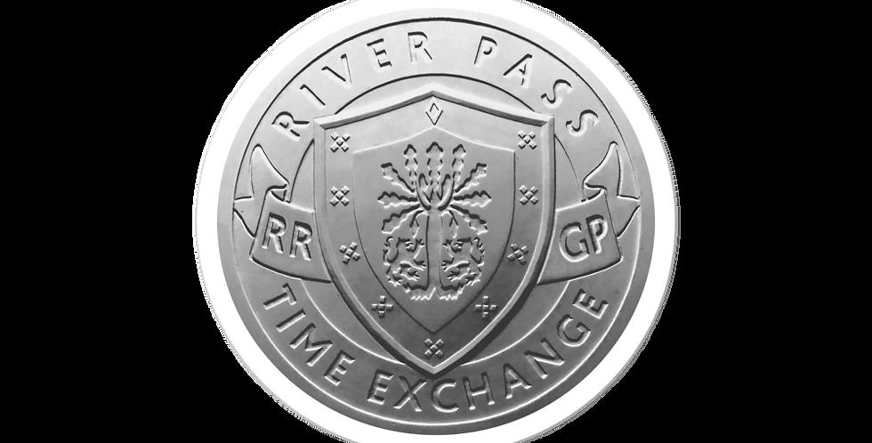 RIVERPASS TIME EXCHANGE Retail Partner door & register decal