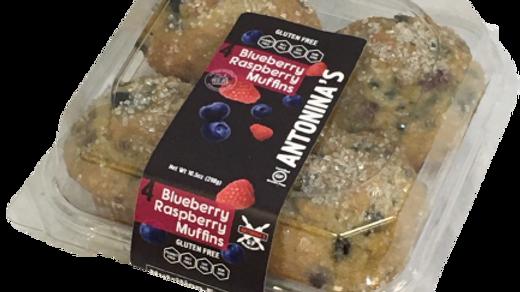 Blueberry Raspberry Muffin