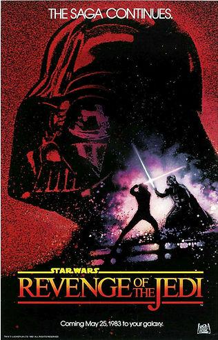 Star Wars Revenge of th Jedi Poster 1983